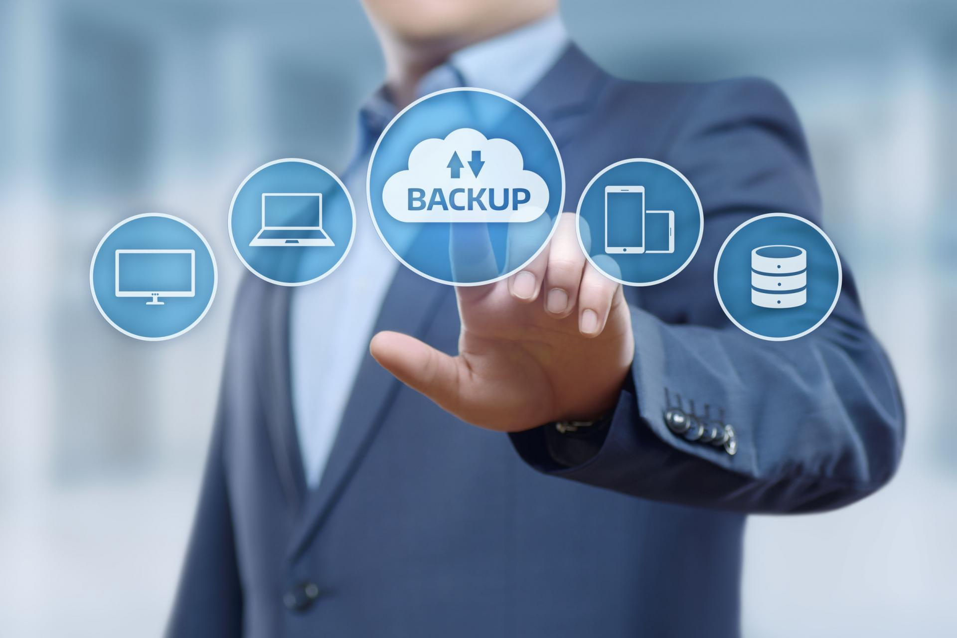 This is why you should always backup your businesses's data